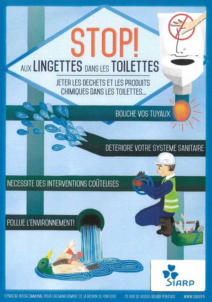 Stop aux lingettes